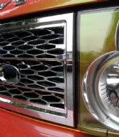 Grille Kit - CHROME (Square type) - Range Rover L322